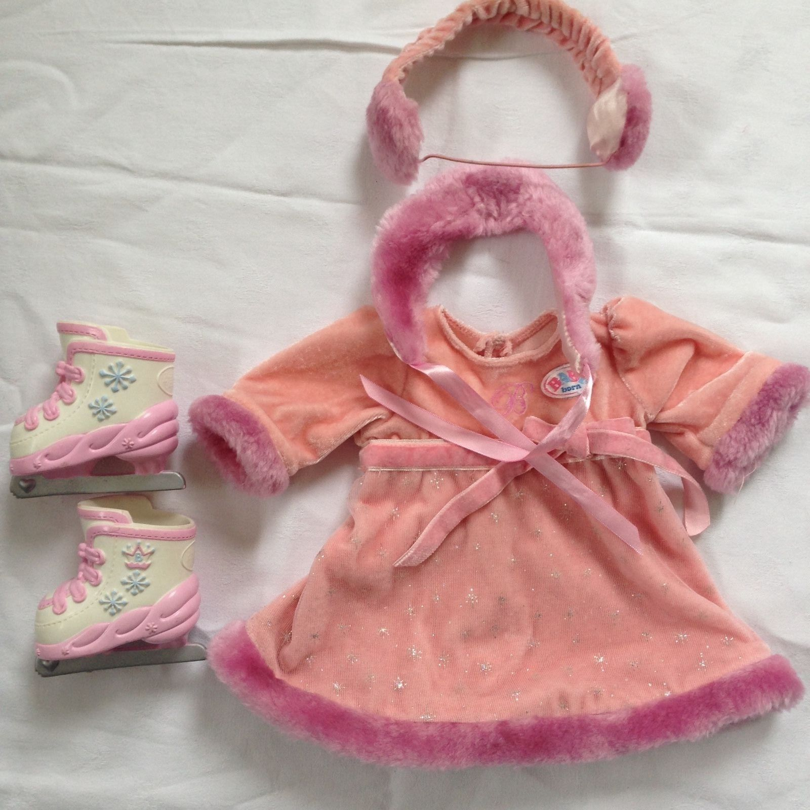 Zapf Baby Born Doll Clothing Winter Ice Skating Outfit