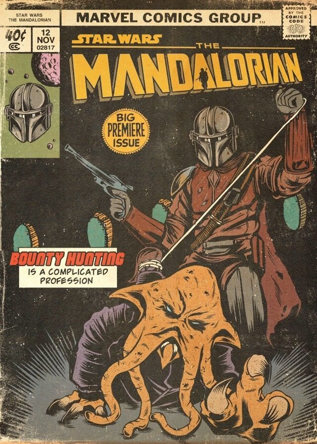 The Mandalorian by DVGLZV #comicbooks