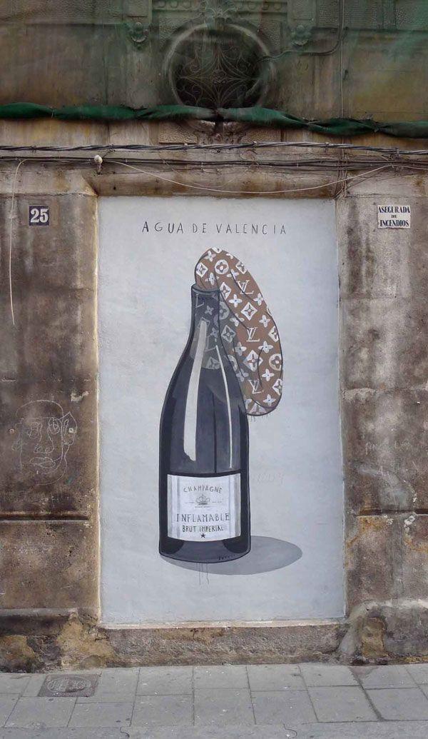 Agua de Valencia - Escif