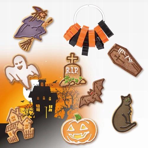 Foremki Do Ciastek Motyw Halloween Kpl 8 Szt 7808631344 Oficjalne Archiwum Allegro Christmas Ornaments Novelty Christmas Halloween