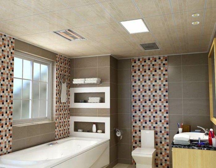 Où trouver le meilleurs dalles LED? Classement! - faux plafond salle de bain