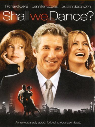Shall We Dance Richard Gere Jennifer Lopez Susan Sarandon