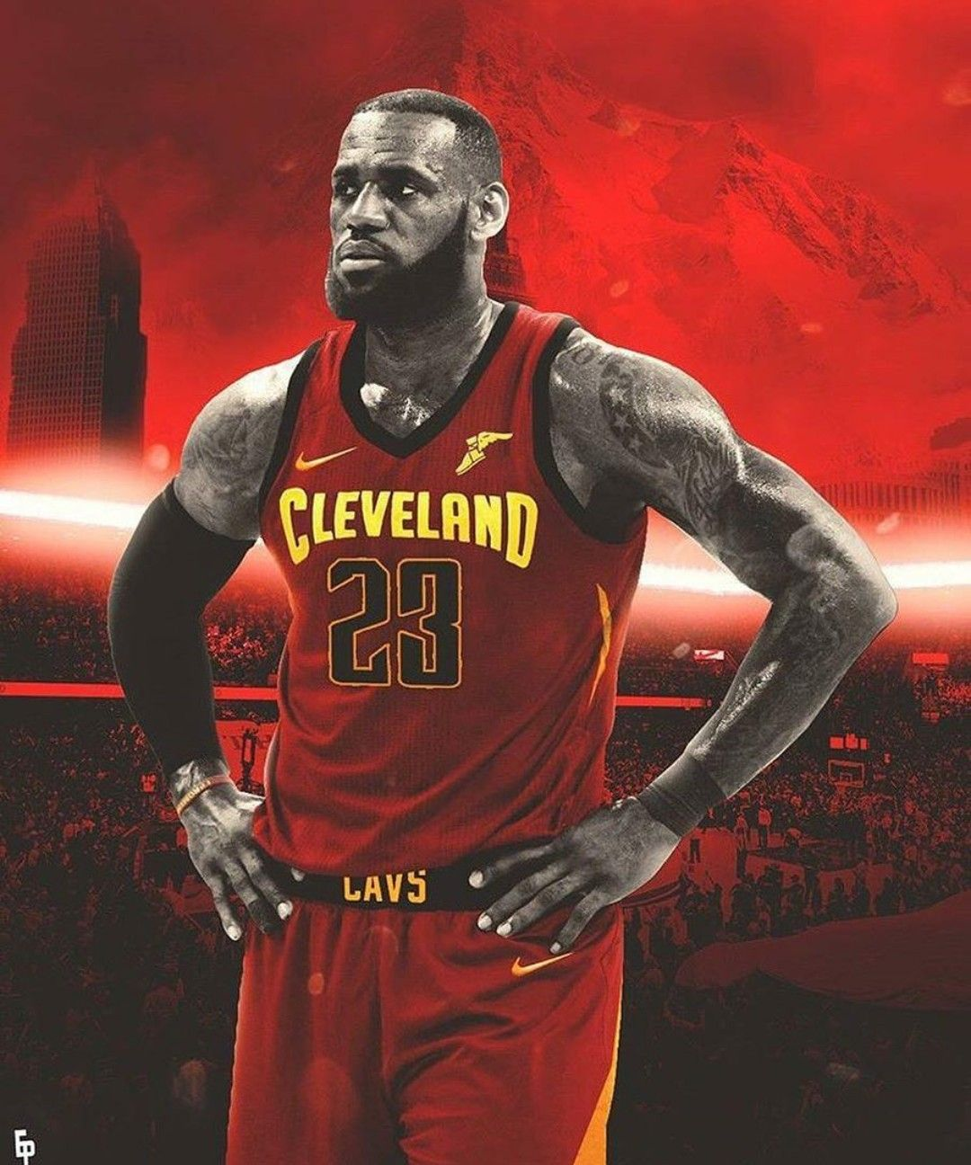 online store 556e3 6a756 Cleveland Cavaliers new Jersey 2017-2018 Looks savage on ...
