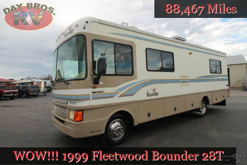 1999 Fleetwood Bounder 28t Used Rv Class A Motorhome Gas Ford Coach Camper 64 Bids Https T Co Eqqpe0w60h Fleetwood Bounder Fleetwood Used Rv