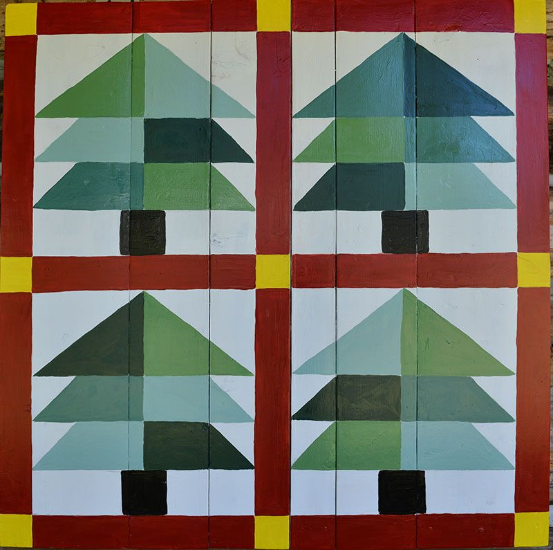 Image result for christmas barn quilt