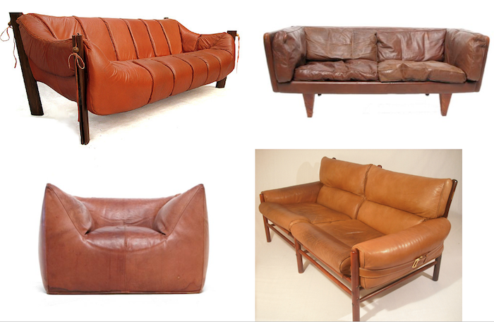 Cheap Sofas Emily Henderson u Stylist BLOG How to find the perfect leather sofa
