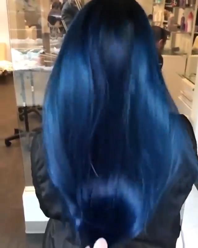Photo of Cabello azul