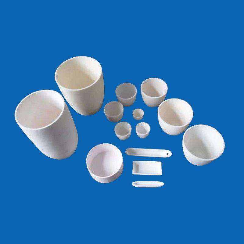 Ceramic Crucibles Applications Include Very High Temperature Use In Metal Glass And Pigment Producti Ceramics Advanced Ceramics Ceramic Materials