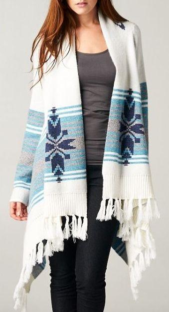 Sabrina Sweater in Indigo on White