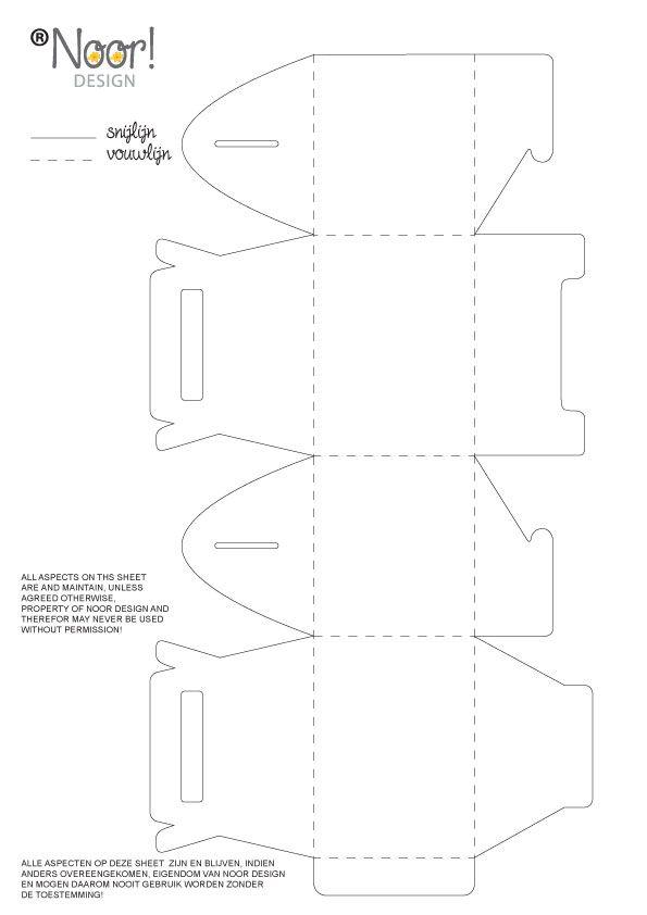 Free gable box template