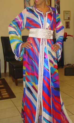My moroccan dress ...