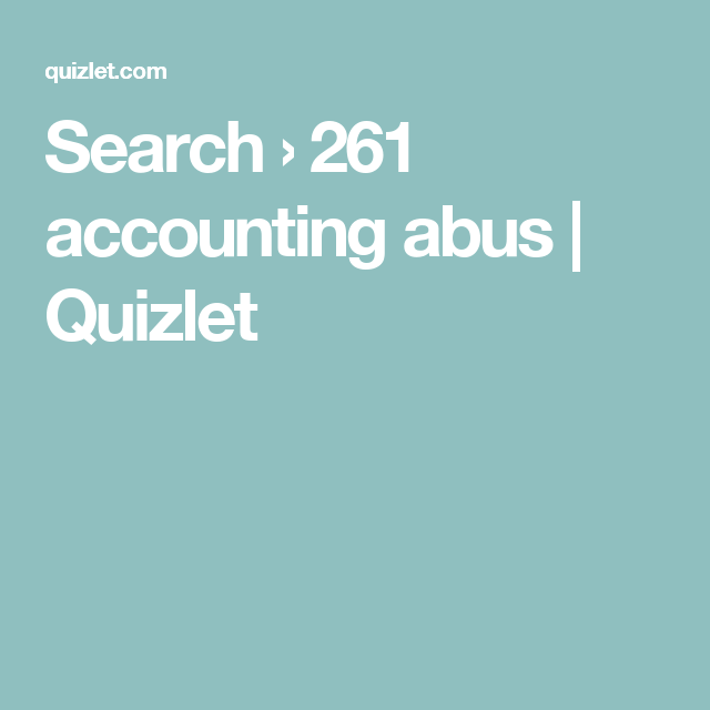 Search   accounting abus quizlet also http depcashaccounts rh pinterest