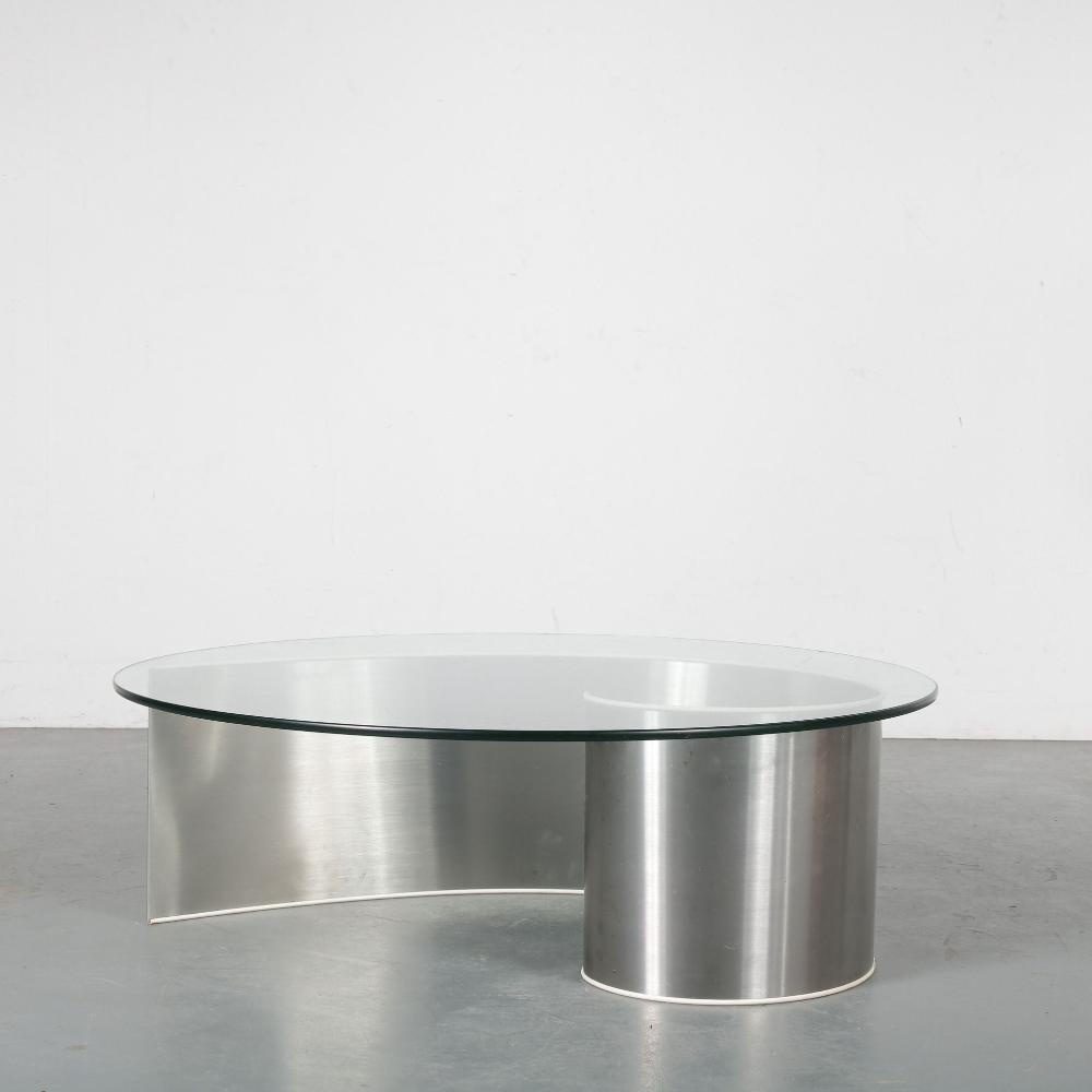 Vintage Round Aluminium Coffee Table 1970s Design Market Aluminum Coffee Table Coffee Table Market Design [ 1000 x 1000 Pixel ]