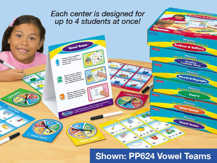 Phonics Instant Learning Centers - Complete Set
