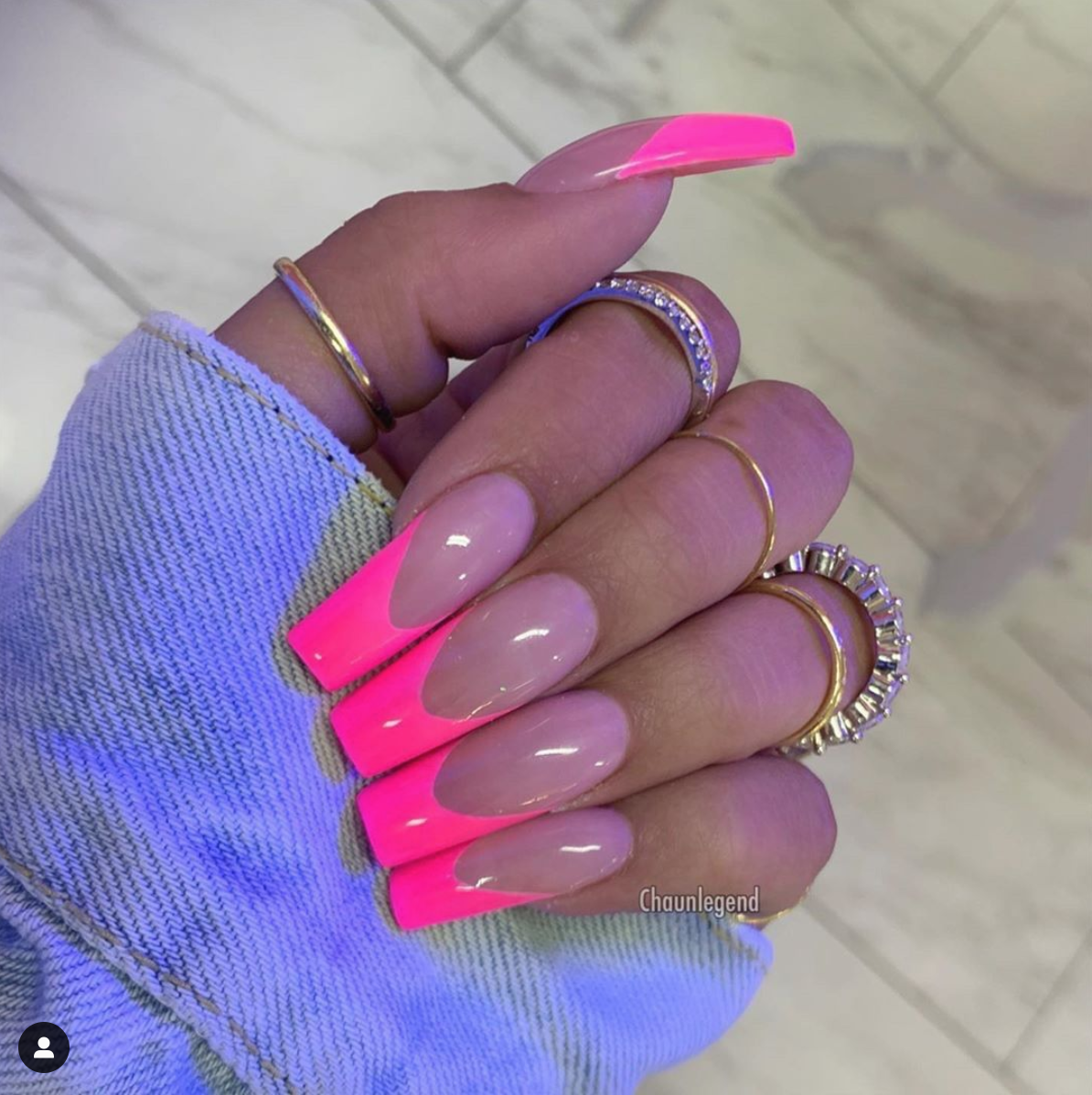 Barbie Dream Nails Heathersanders With The Major Nail Inspo Girlstour Sorella Dream Nails Pink Nails Pink Tip Nails