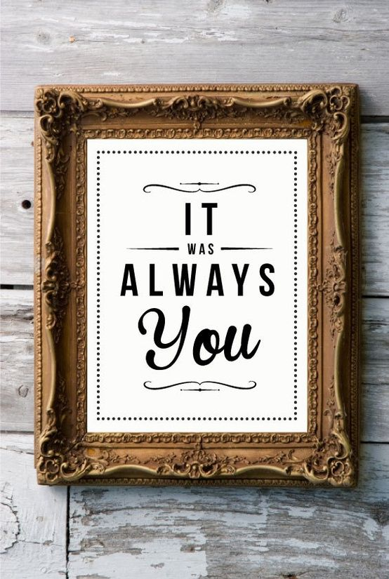 Art Frame Source 18928 Sentiments I Framed Art: It Was Always You, Insert Panic! At The Disco Song Here