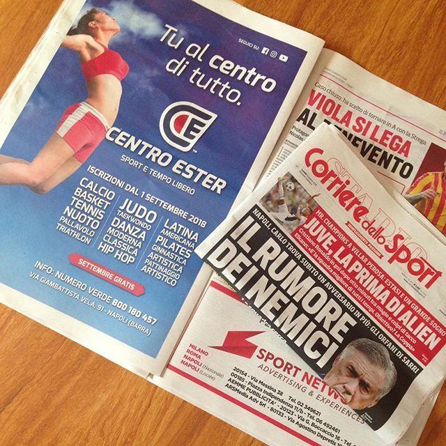 Corriere Dello Sport 13/08/2018 dadapaky.it centroester