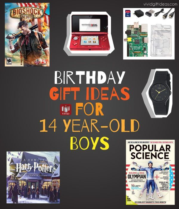 Birthday Gift Ideas For Boys