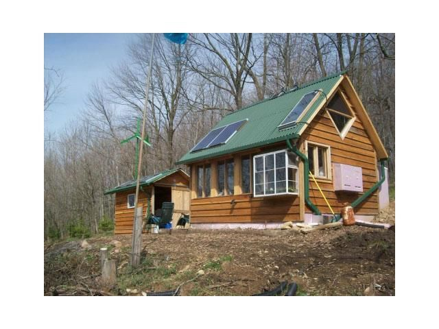Self contained off the grid unit 90 000 off grid for Self contained cabin