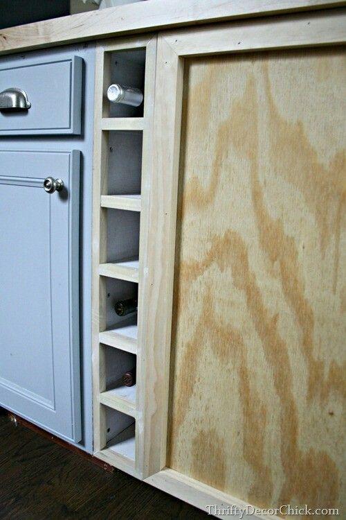 Diy Wine Cubby Cabinet