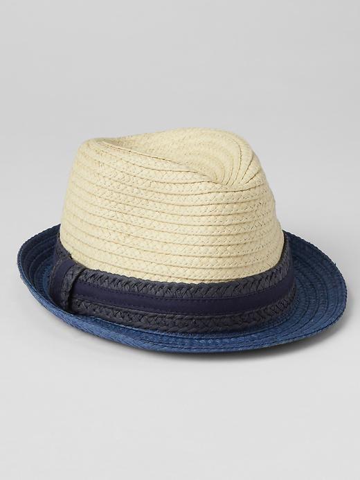 Colorblock straw fedora | Gap | Hats | Pinterest | Straw fedora ...