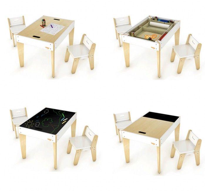 Mesa y sillas Little Modern de P\'kolino | Cuarto niños | Pinterest ...