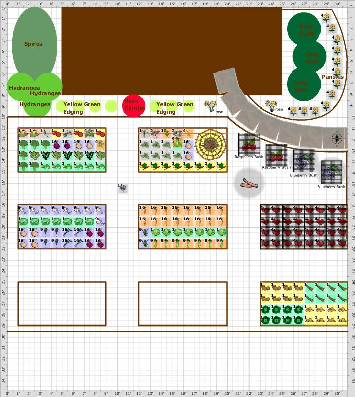 Free Square Foot Garden Plans For All Your SFG Planning  From The Old  Farmeru0027s