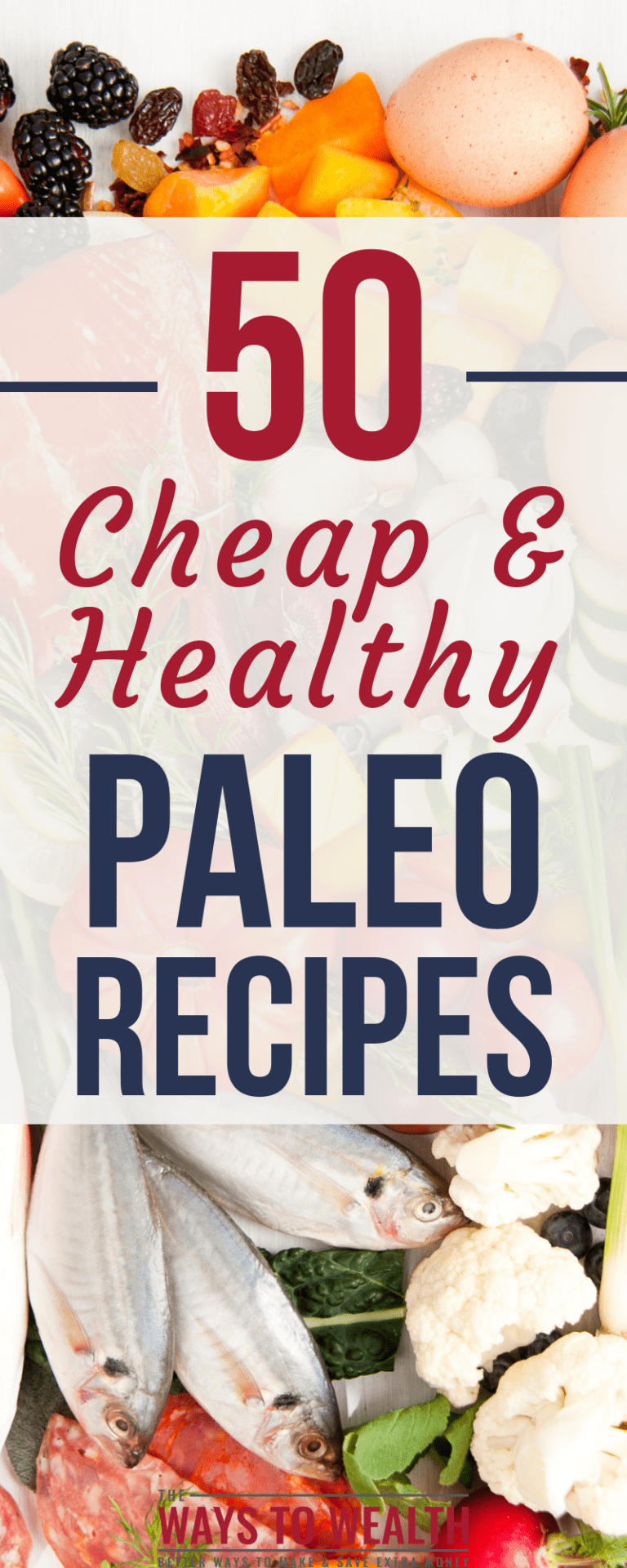 50+ Budget Friendly, Low-Carb Paleo Meal Ideas images