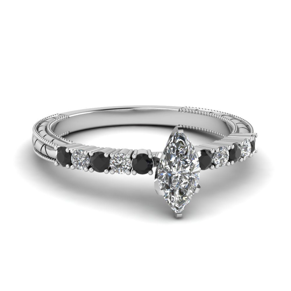 Vintage Marquise Diamond Ring In 2019 Cheap Engagement Rings