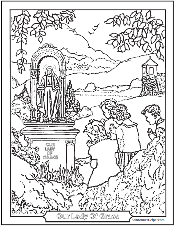 500+ Coloring Pages To Print ❤+❤ Catholic Coloring Pages ...