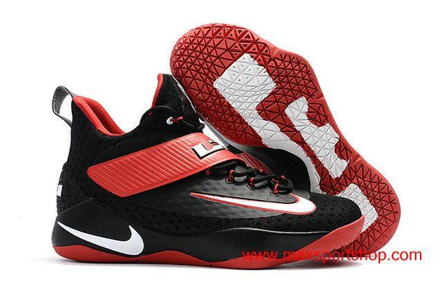 Nike LeBron Ambassador X 2017 Black Red Men's Basketball Shoes $82.00