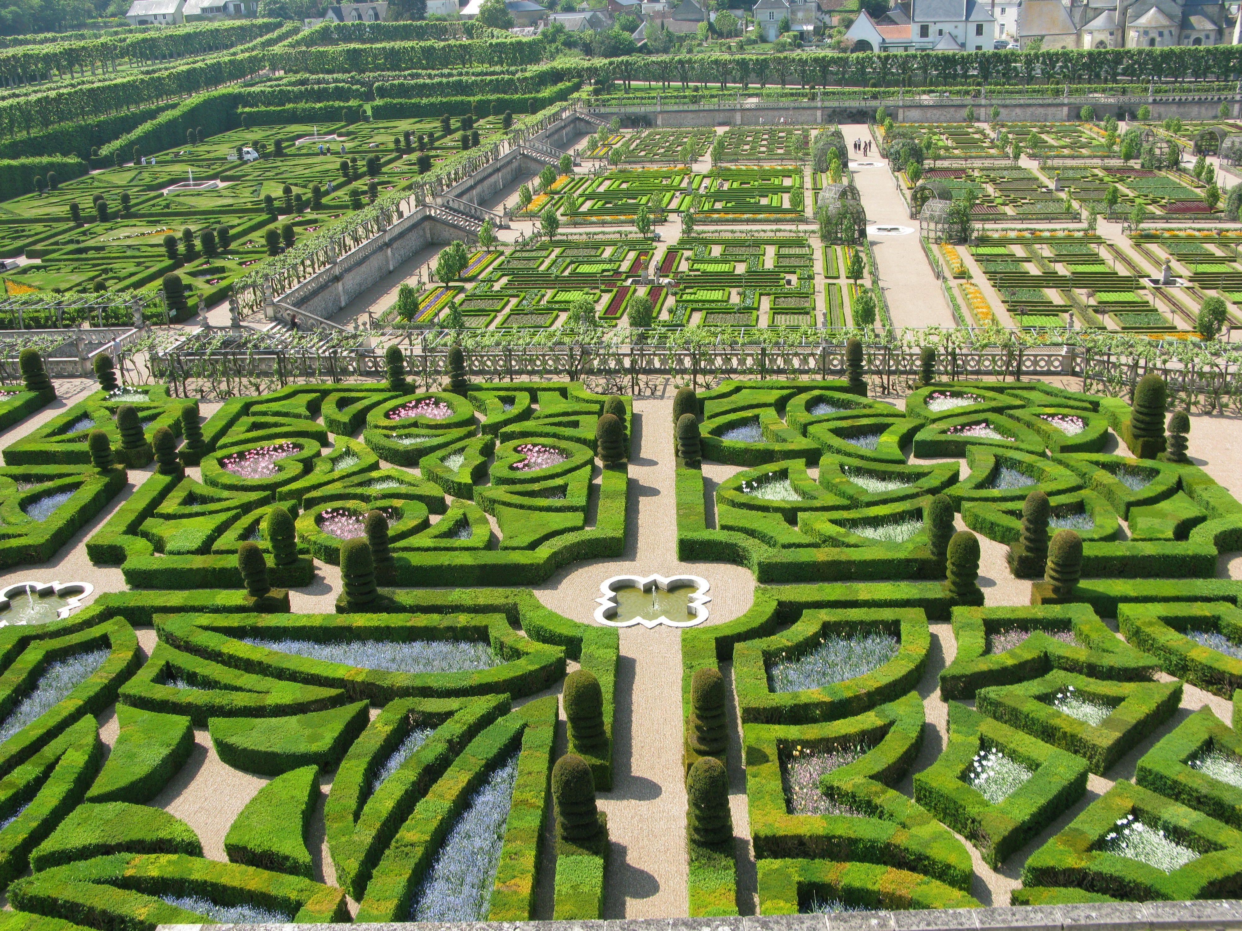 Gardens Of Chateau Villandry Around The World Potager Garden