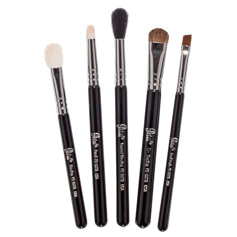 Petal Beauty Basic 5 Piece Brush Eye Travel makeup Kit