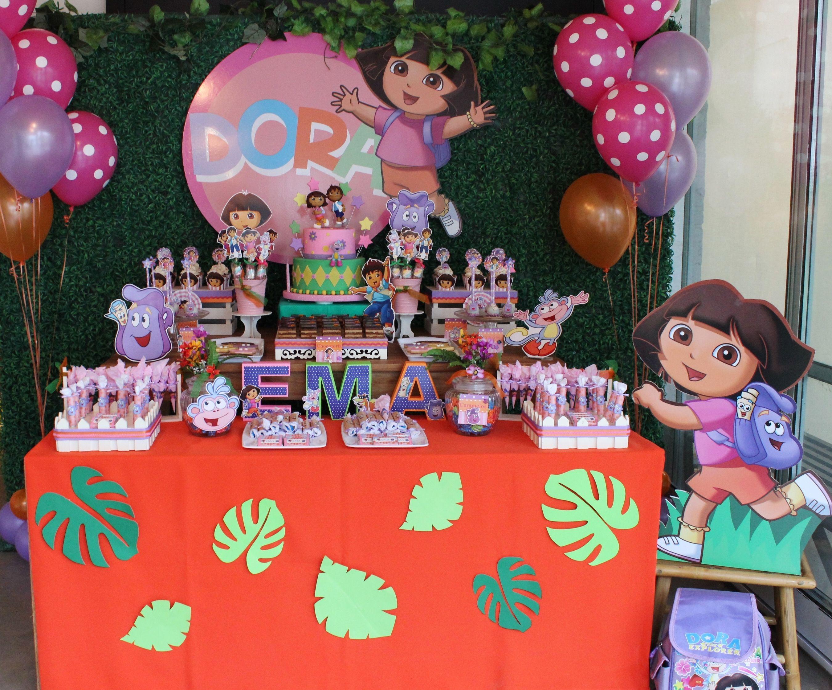 Invitaciones De Cumpleaños De Dora La Exploradora Para Dedicar 10 en ...