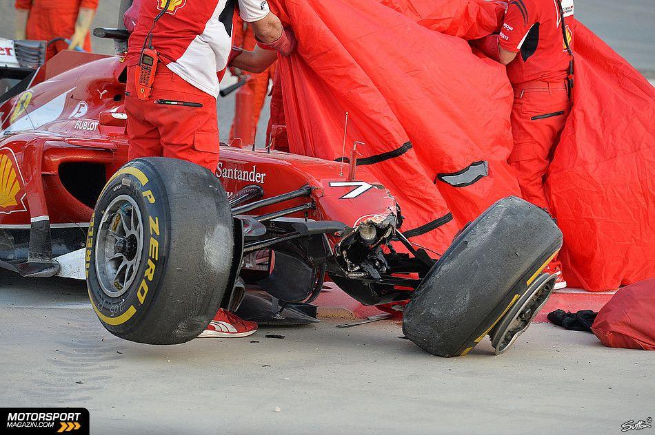 F1 2014 Bahrain Day 4 Testing
