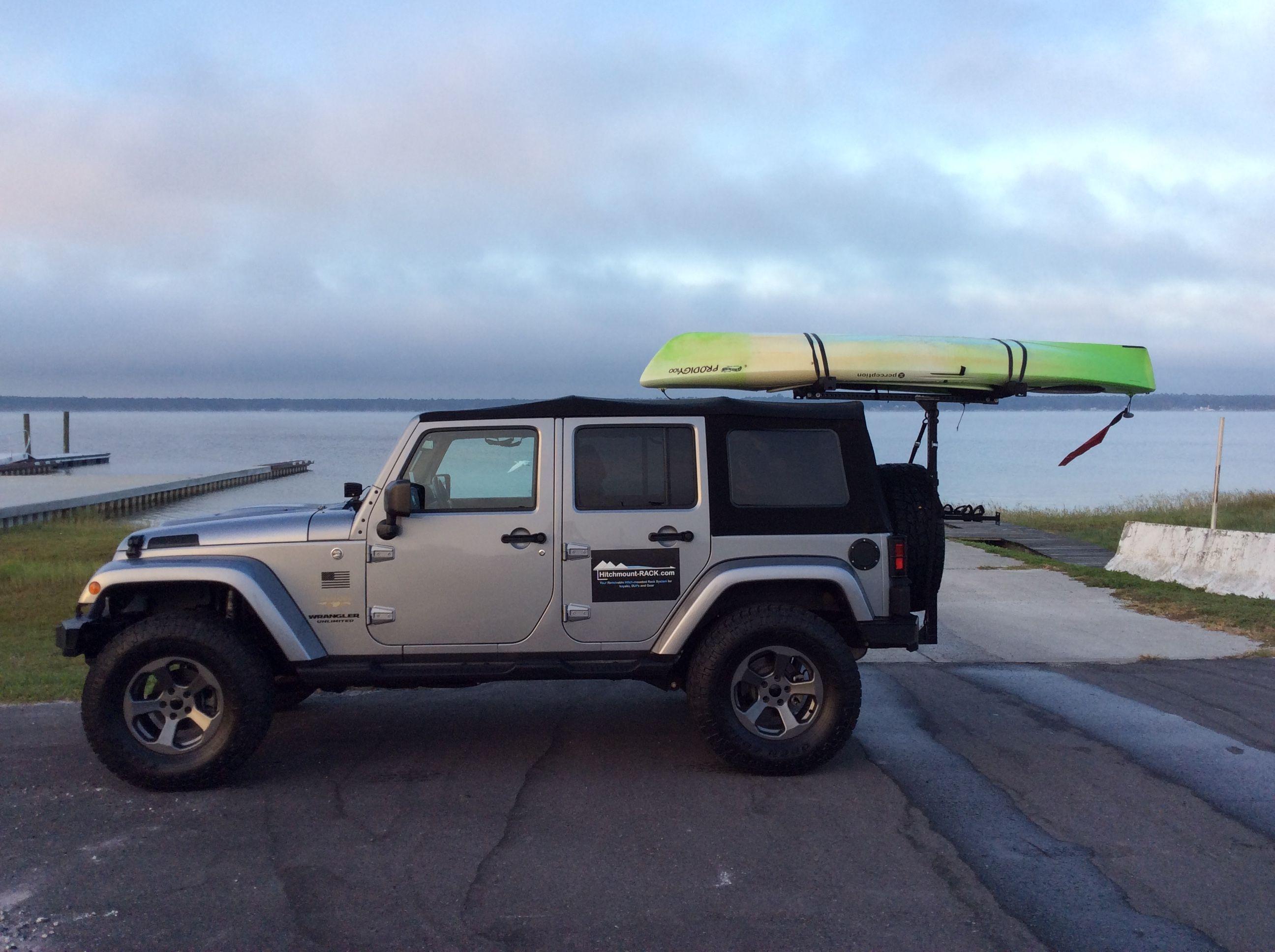 Kayak Rack For Jeep Wranglers Jeep Racks Kayak Rack Jeep