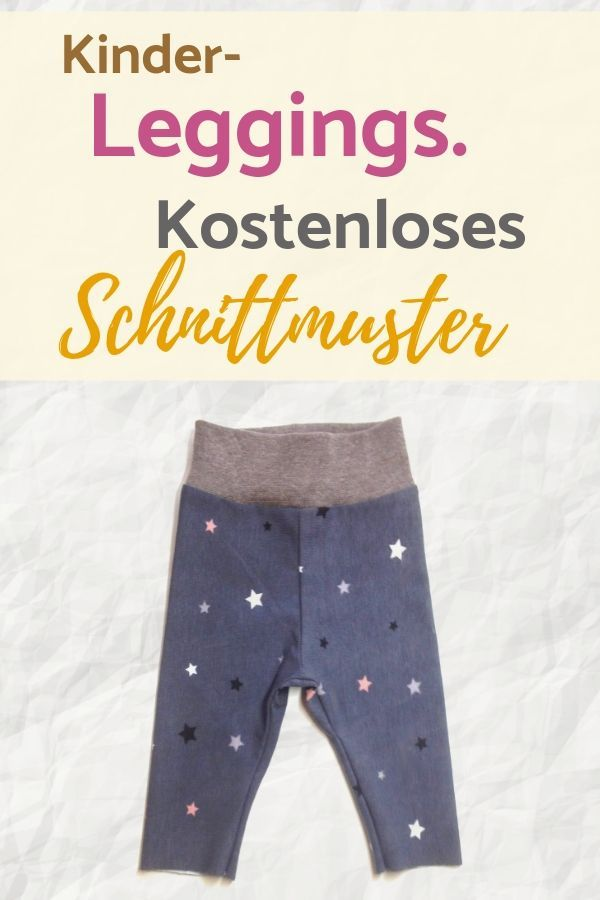 Freebook: Kostenloses Schnittmuster Leggings Luna