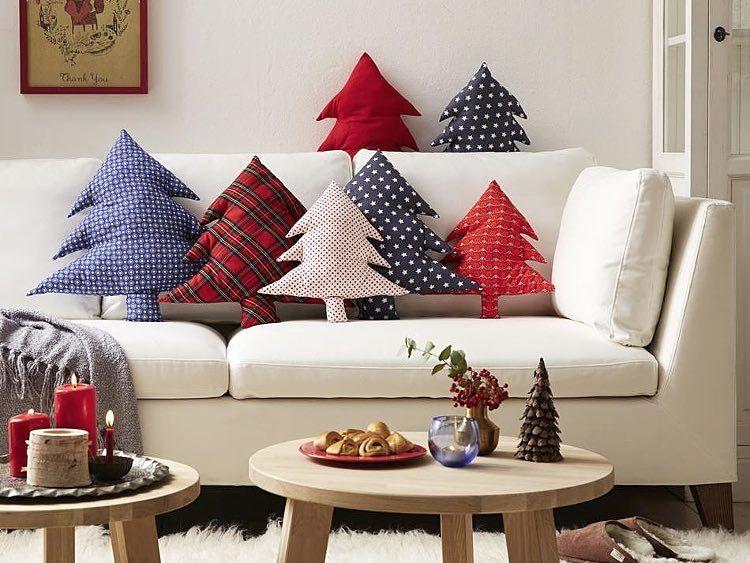 DIY tutorial: Make a Christmas Tree Cushion via DaWanda.com