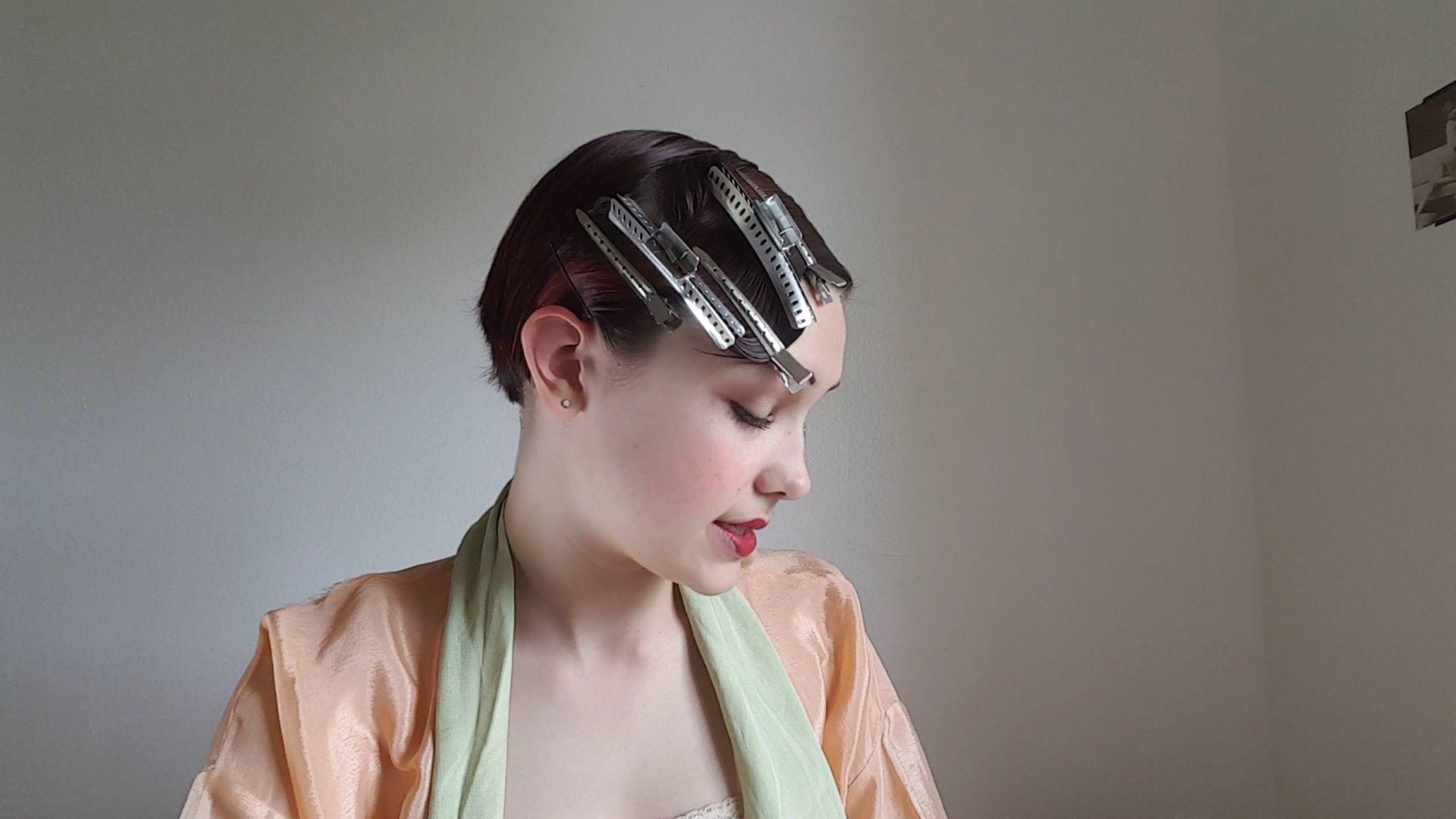 1920's/1930's marcel wave/finger wave tutorial | hair | hair