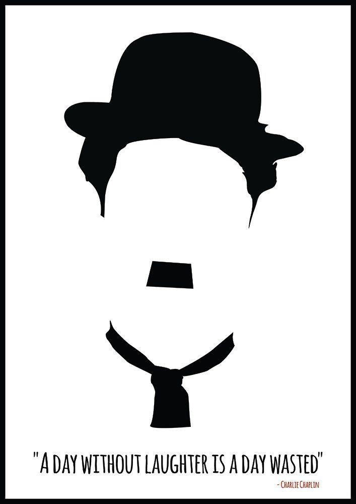 Charlie Chaplin Poster Charlie Chaplin Art Quote By Redpostbox