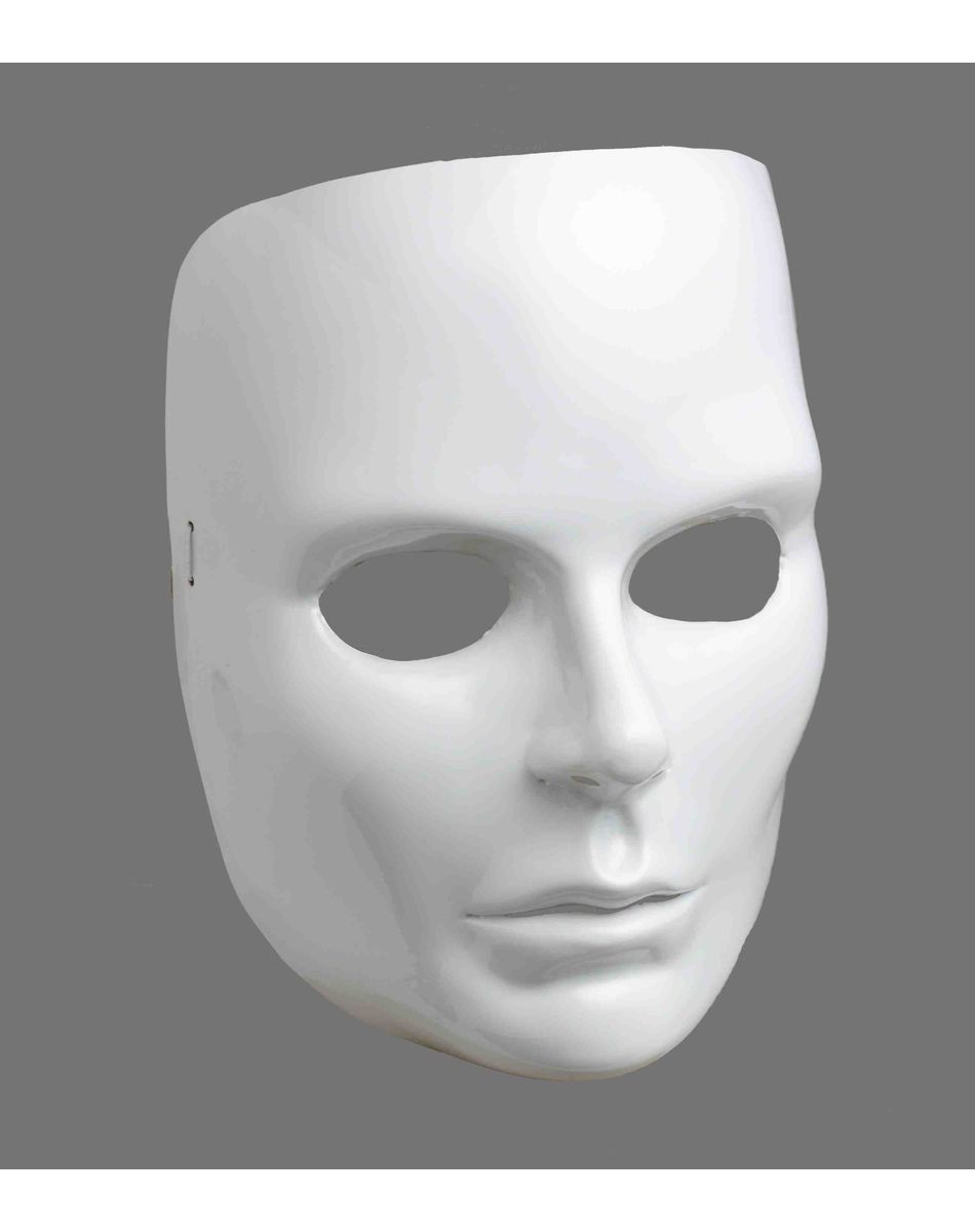 Blank White Face Female Mask | Halloween Costumes/Accessories ...