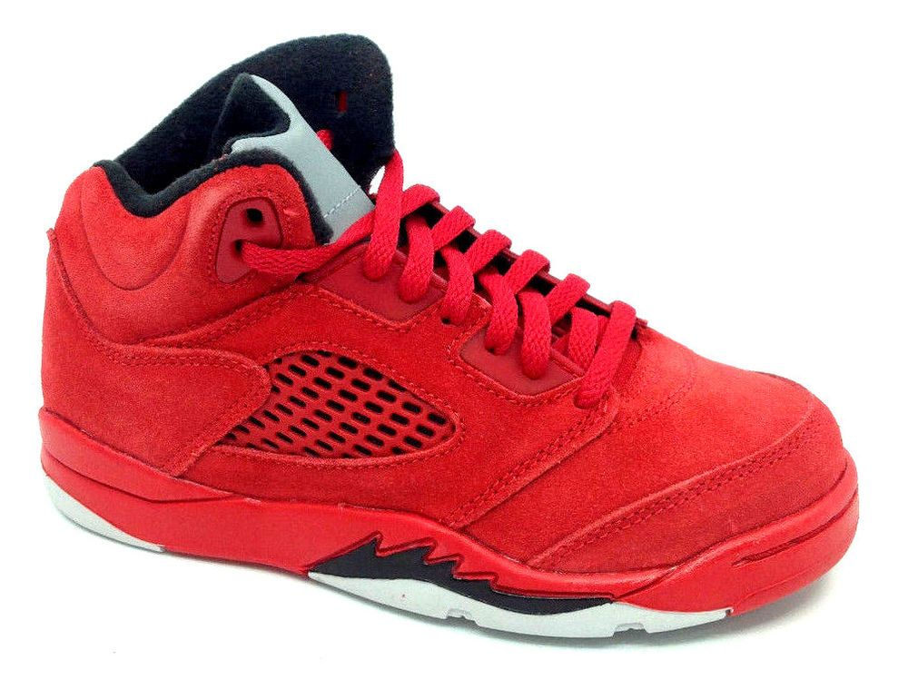 acabb23a09c eBay #Sponsored Jordan 5 Retro BP Mid PreSchool Lifestyle Shoe University  Red/Black 440889-602