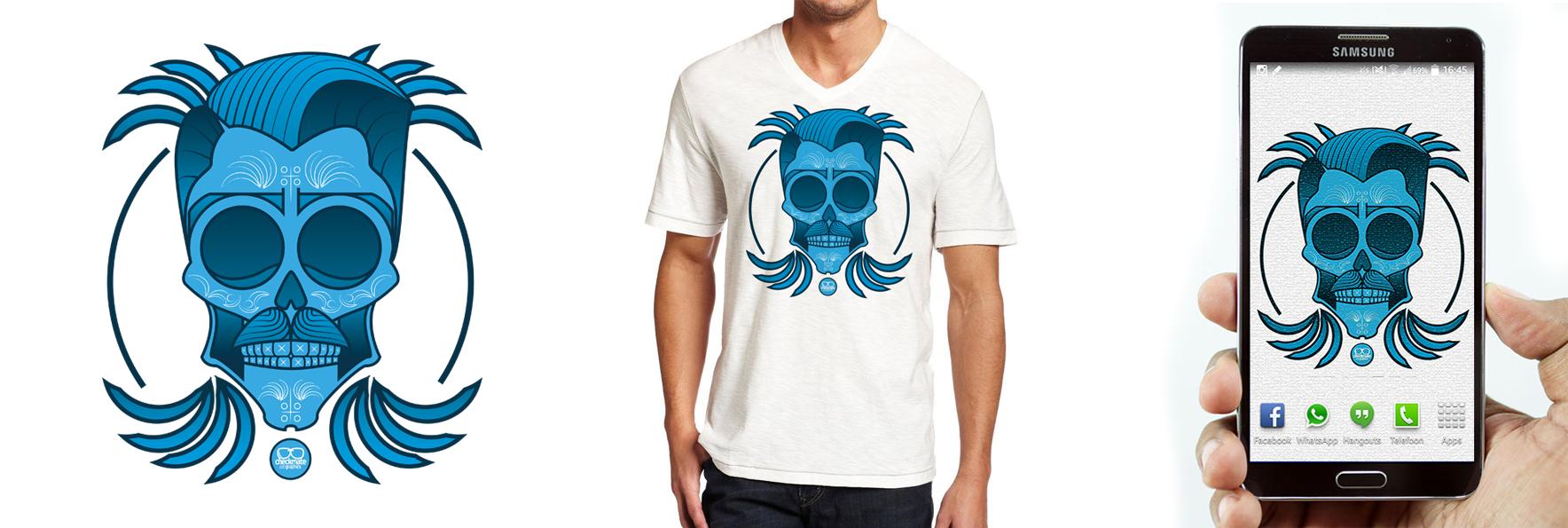 #MexicanSkull Design by Coen Visser