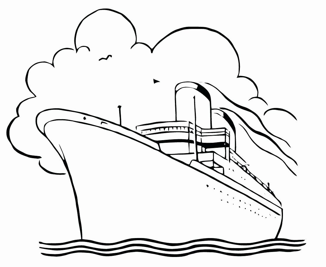 Sail Boat Coloring Sheet In 2020 Ship Drawing Free Vector Art