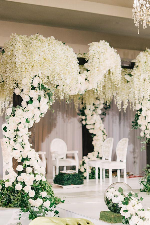 English Garden Inspired Wedding Romance Enchanted garden