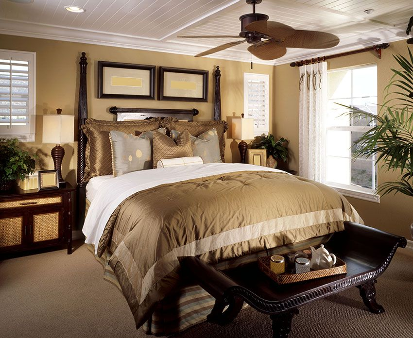 Small Master Bedroom Design Ideas Tips And Photos: 23 Tan Bedroom Ideas (Decorating Pictures)