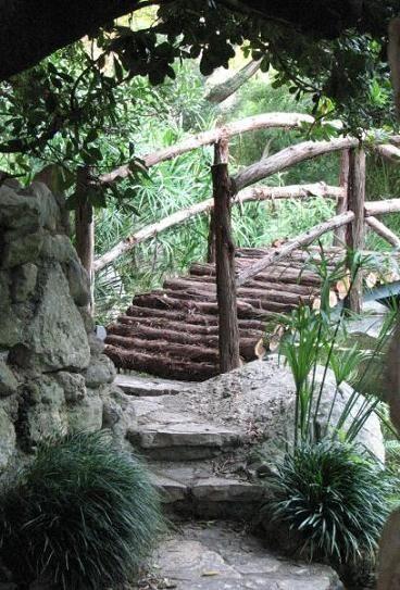 Moon Bridge   Isamu Taniguchi Japanese Garden, Austin, TX   Opened To The  Public