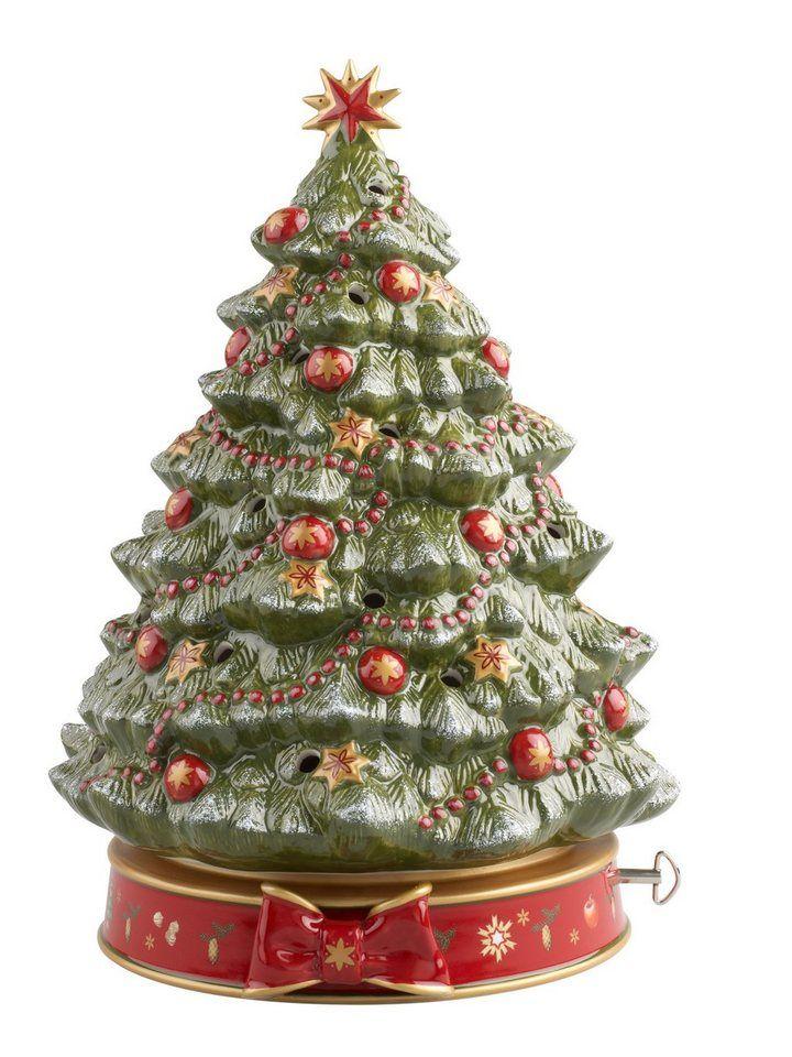 Christbaumkugeln Hochwertig.Villeroy Boch Weihnachtsbaum Mit Spieluhr Toy S Delight