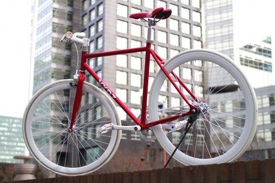 Vydz 'Classy Red' single speed bike   Vydz
