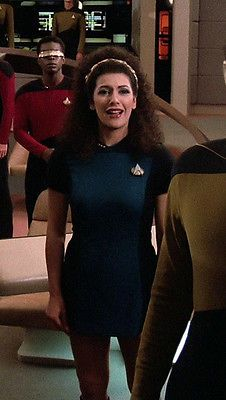 Marina sirtis aka counselor deanna troi - 2 part 6